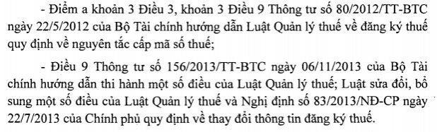 can cu theo cac quy dinh