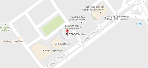 bản đồ đến lamketoan.vn