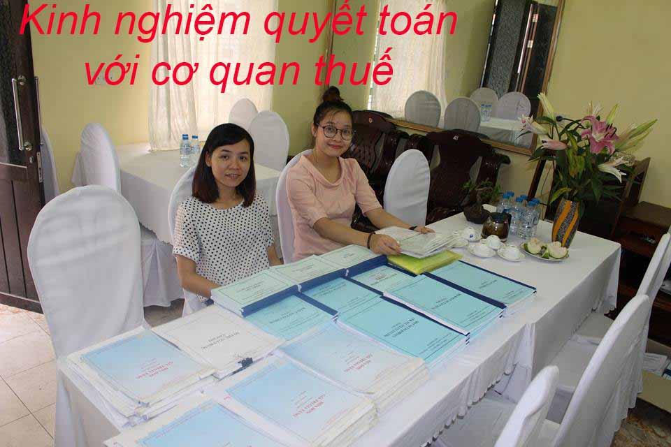 Kinh nghiệm quyết toán thuế với cơ quan thuế trong Công ty Xây Dựng