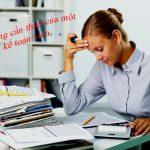 Kỹ năng cần thiết của một nhân viên kế toán