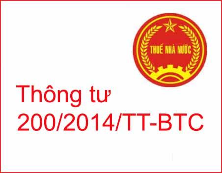 Thông tư 200/2014/TT-BTC chế độ kế toán doanh nghiệp có gì mới