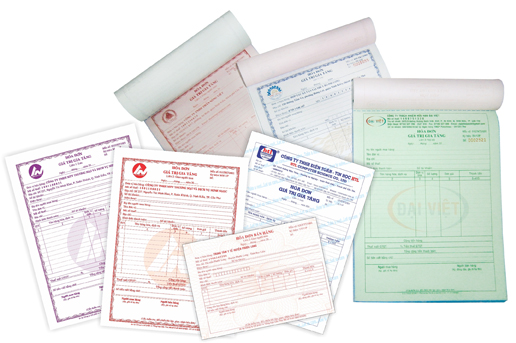 Thủ tục đặt in hóa đơn GTGT lần đầu cho doanh nghiệp