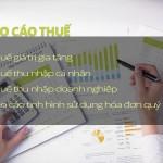 Các loại báo cáo thuế phải nộp cho cơ quan thuế