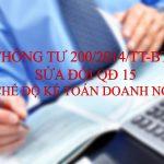 Hướng dẫn lập báo cáo tài chính theo thông tư 200/2014/TT-BTC bằng Excel
