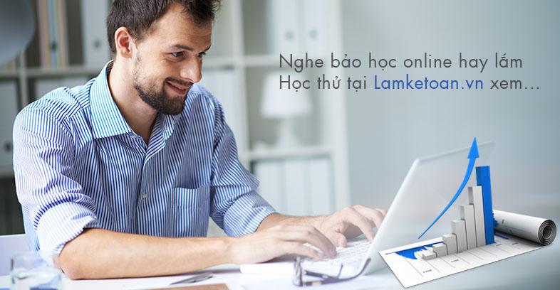 đào tạo kế toán online
