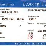 Hạch toán chi phí khi mua vé máy bay