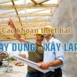 Hạch toán các khoản thiệt hại trong xây dựng, xây lắp