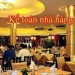Kế toán nhà hàng