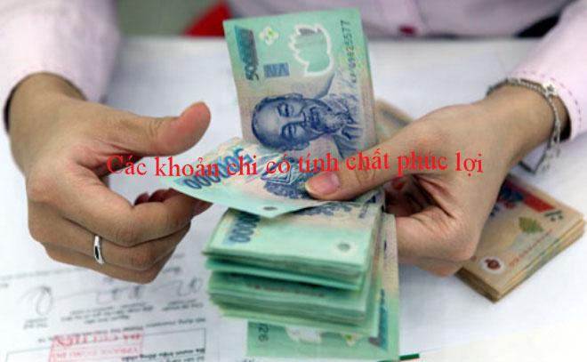 Những khoản chi phúc lợi cho người lao động được tính vào chi phí được trừ