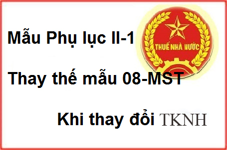 mau Phu luc II 1 thay doi dang ky kinh doanh