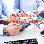 Hướng dẫn cách hạch toán thuế môn bài phải nộp