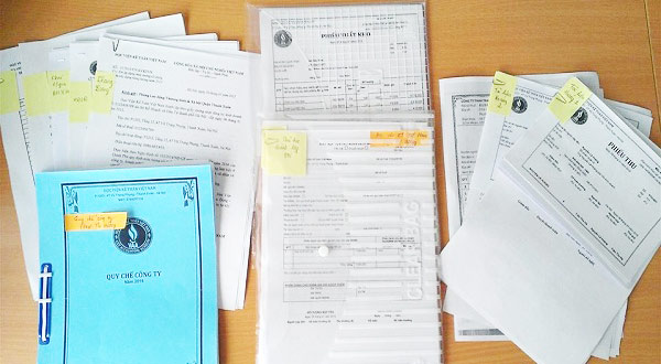 bìa chứng từ kế toán