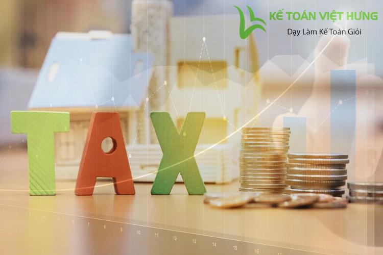 cân đối thuế đầu vào