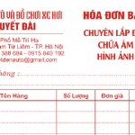 Mẫu biên bản điều chỉnh hóa đơn sai theo thông tư 39