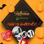Happy Halloween - Đăng ký học hết hồn cùng siêu ưu đãi Kế toán Việt Hưng