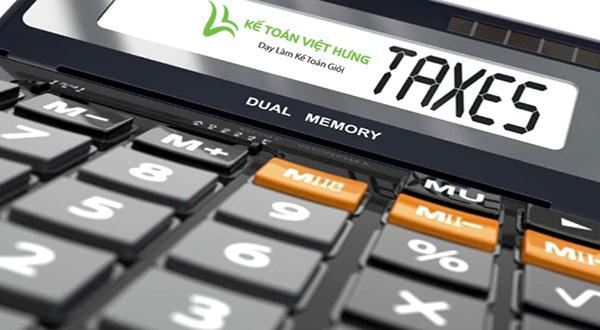 nghiệp vụ kế toán thuế
