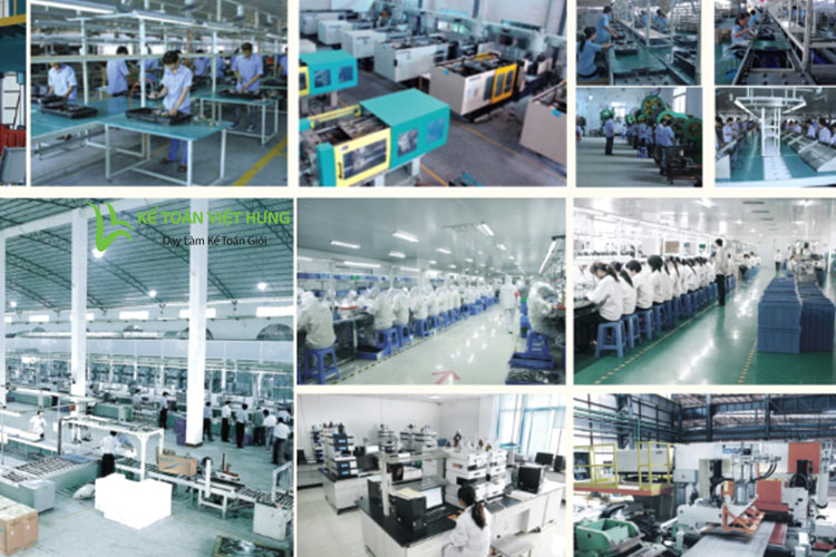 kế toán sản xuất và tính giá thành