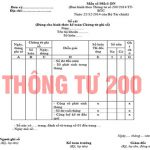 Hệ thống sổ kế toán theo thông tư 200 | Kế toán Việt Hưng