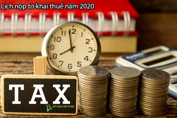 nộp tờ khai thuế