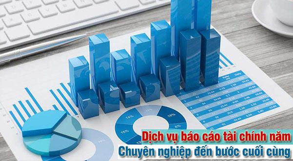 dịch vụ báo cáo tài chính năm