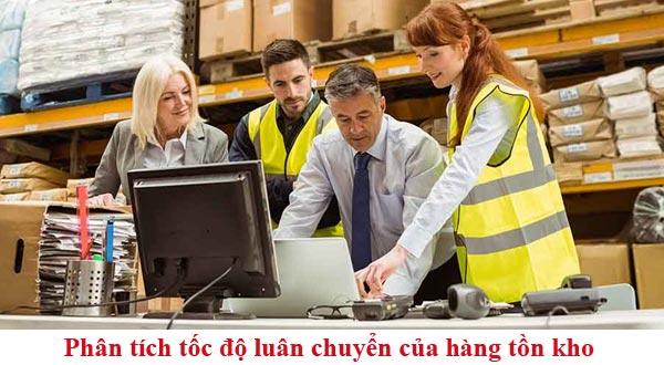 phân tích tốc độ luân chuyển của hàng tồn kho