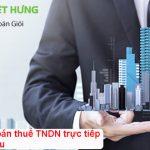Hướng dẫn quyết toán thuế TNDN trực tiếp trên doanh thu mới nhất