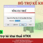 Hướng dẫn cách sửa lỗi phần mềm hỗ trợ kê khai thuế HTKK