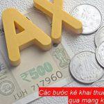 Các bước kê khai thuế bổ sung lần 2 qua mạng kế toán cần nắm