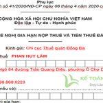 File Word | Nghị định 41/2020 - Gia hạn nộp thuế năm 2020