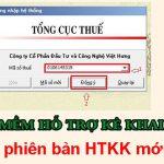 Tải HTKK 4.3.9 | Cập nhật phần mềm HTKK mới nhất – Kế toán Việt Hưng