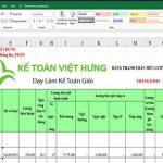 [MẪU] Cách thiết lập bảng lương Excel hoàn toàn tự động