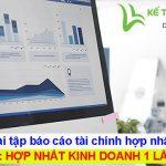 Bài tập báo cáo tài chính hợp nhất: PHẦN 2 - HNKD 1 lần mua