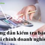 9 lưu ý để kiểm tra báo cáo tài chính doanh nghiệp nhanh chóng
